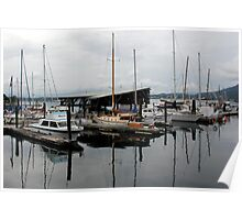 Cowichan Bay - Vancouver Island Poster