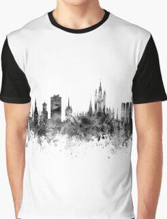 Aberdeen Scotland Skyline Graphic T-Shirt