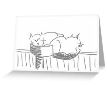 Sketches at the shelter 27 Greeting Card