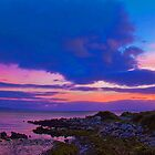 Ireland. Galway. Galway Bay. Sunset. by vadim19