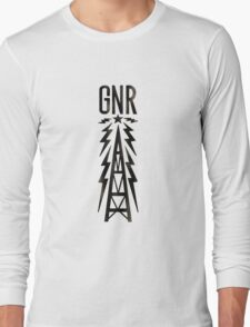 Galaxy News Radio Rock Gradient Long Sleeve T-Shirt
