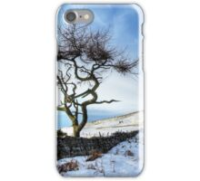 Winter at Roseberry Topping, North Yorkshire iPhone Case/Skin