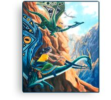 Dragon Express Canvas Print