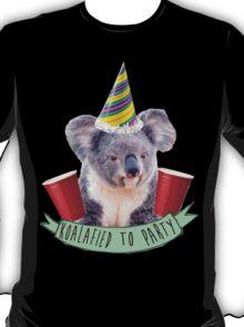 Koala-fied To Party T-Shirt