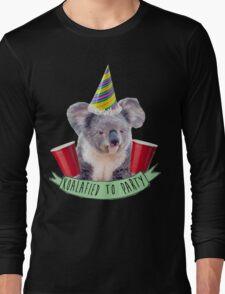 Koala-fied To Party Long Sleeve T-Shirt