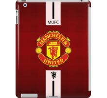 manchester united WHITE LINE iPad Case/Skin