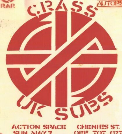 Crass Sticker