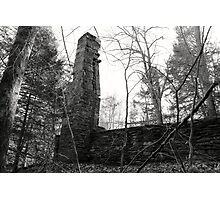 abandoned foundation Photographic Print