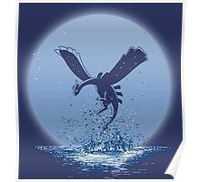 The Guardian of the Sea - Lugia Pokemon Poster