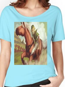 link and epona Women's Relaxed Fit T-Shirt