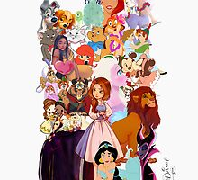 Disney Collage by bippitybovvity