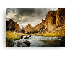 Wild river Canvas Print