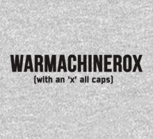 WARMACHINEROX by Adiel