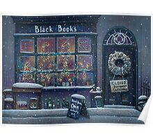 Black Books Christmas Poster