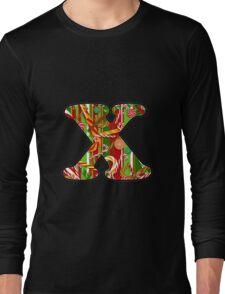 Letter Series - Christmas x Long Sleeve T-Shirt