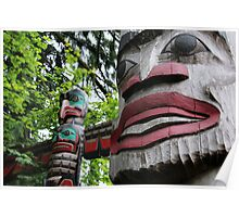 Capilano Totems Poster
