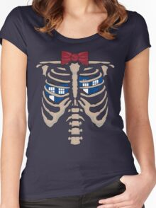 The Hearts of the T.A.R.D.I.S. Women's Fitted Scoop T-Shirt