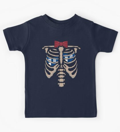 The Hearts of the T.A.R.D.I.S. Kids Tee