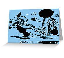 Krazy Kat & Ignatz Pulp Fiction Greeting Card