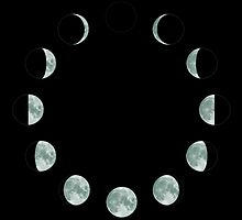 Moon Phases by ShaMiLaB