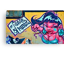 Alert:>>>>5 POINTZ IS DEAD!!!!!!!!! (collection of 6) Canvas Print