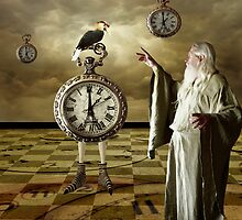 Father Time... by Karen  Helgesen