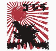 King  Kaiju - Godzilla by ddjvigo