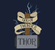 God of Thunder by andirobinson