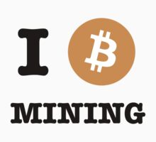 I Be Mining Bitcoin tshirt / I Heart Coin Bitcoin Mining by RedPine