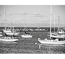 Old Monterey Wharf Access Photographic Print