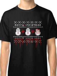 Jolly Bloody Snowman Classic T-Shirt