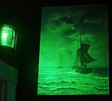 Ships Sailing the Seas by David Denny