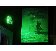 Ships Sailing the Seas Photographic Print