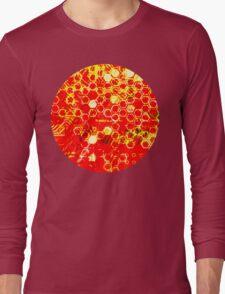 digital honeycomb Long Sleeve T-Shirt