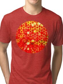 digital honeycomb Tri-blend T-Shirt