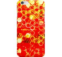 digital honeycomb iPhone Case/Skin