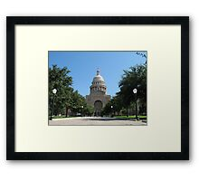 Texas Capitol Building Framed Print