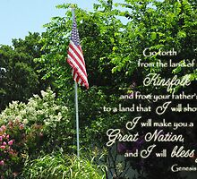 Great Nation Bless You by paws4critters