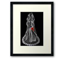 ¸¸.♥➷♥•*¨ A TEAR OF A BROKEN DREAM ¸¸.♥➷♥•*¨WITH POEM I HAVE WRITTEN ¸¸.♥➷♥•*¨ Framed Print