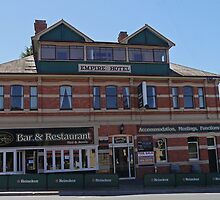 Empire Hotel, Deloraine, Tasmania, Australia by Margaret  Hyde
