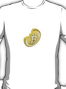 """Bit"" Coin Bitcoin tshirt T-Shirt"