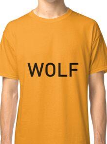 Wolf of Wall Street Logo font Classic T-Shirt