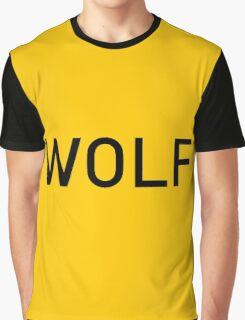 Wolf of Wall Street Logo font Graphic T-Shirt