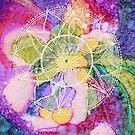 Mandala : Burst  by danita clark