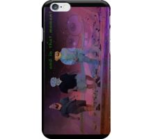 Steppin on the beach iPhone Case/Skin