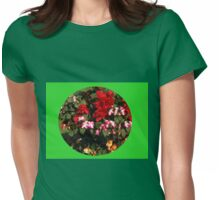 Begonias Vignette Womens Fitted T-Shirt