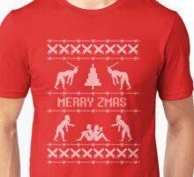 Zombie Christmas Sweater Unisex T-Shirt