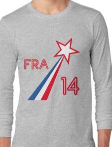 FRANCE STAR Long Sleeve T-Shirt