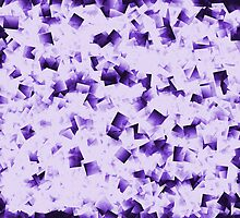 Crystal - Purple by Susan  Chakraborty