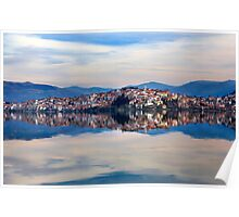 The double beauty of Kastoria Poster